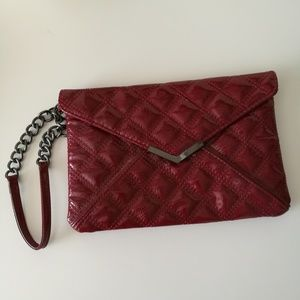 Express quilted clutch wristlet